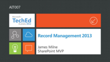 Record Management in SharePoint 2013