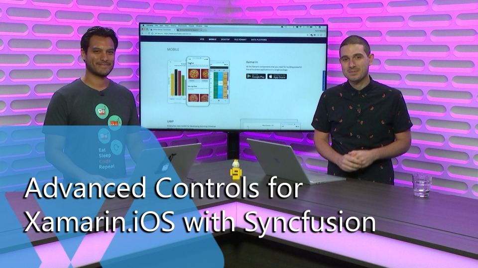 Advanced Controls for Xamarin.iOS with Syncfusion