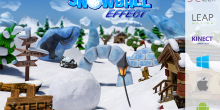 SnowBall Effect now supports Kinect V2