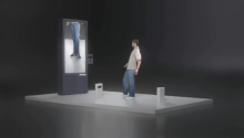 Augmented Reality Shoe Shopping with Goertz and the Kinect