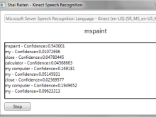 Introduction to Kinect Speech Recognition