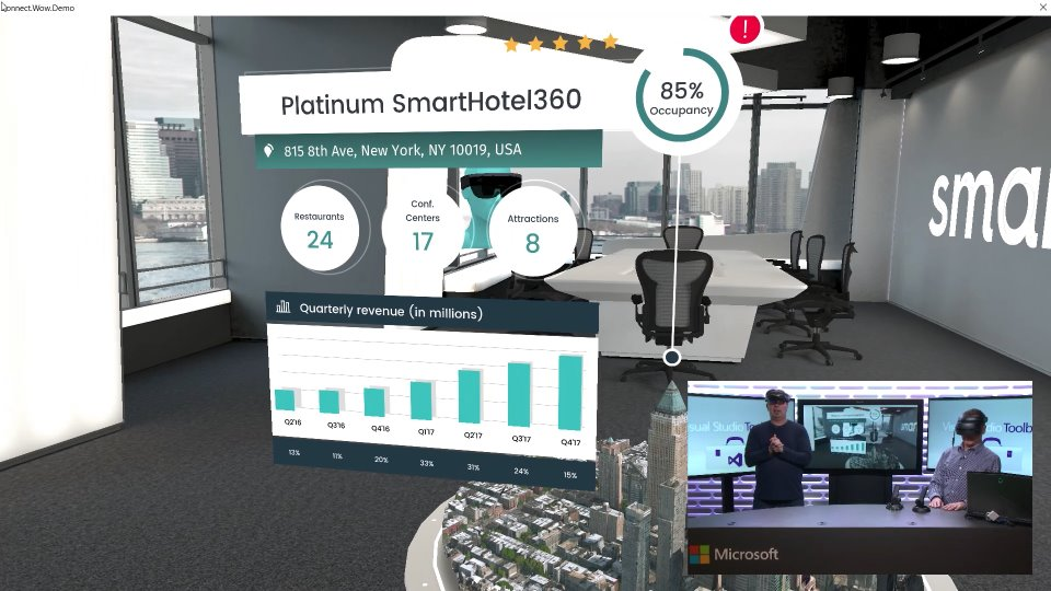 SmartHotel360 Demo App Mixed Reality