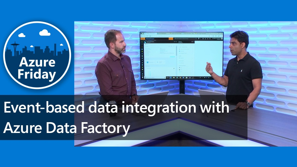 Event-based data integration with Azure Data Factory