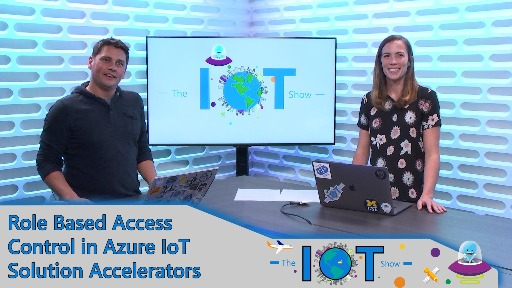 Role Based Access Control in Azure IoT solution accelerators