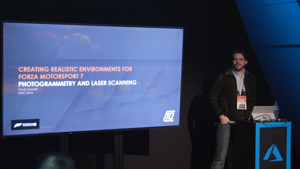 Photogrammetry and Laser Scanning in Forza Motorsport 7 - Theater Presentation 1