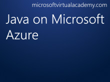 Java on Microsoft Azure