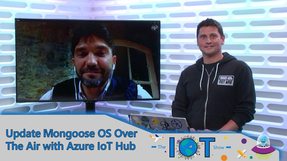 Update Mongoose OS with Automatic Device Management in Azure IoT Hub