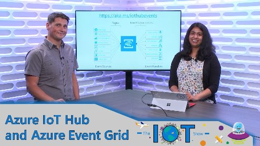 Azure IoT Hub and Azure Event Grid