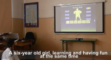 The Kinect is a natural tool to learn with, as shown by the NatuLearn team