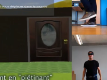 A guy, VR headset and a Kinect walk into a...