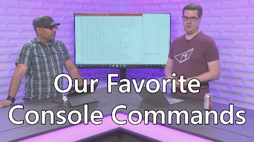 Defrag Tools #195 - Console Command Favorites