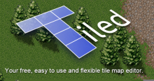 Tiled, your TMX game tile map creating tool