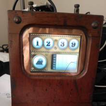 A steaming hot .NET Gadgeteer project, the steampunk weather station
