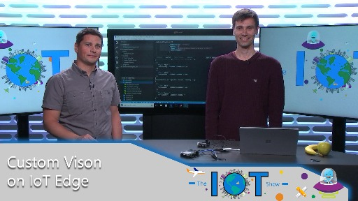 Custom Vison AI on Azure IoT Edge