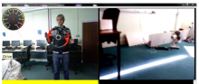 Telecontrol example with the Kinect