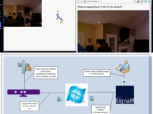 The Kinect, Windows Azure Service Bus and SignalR together in Kinectonitor