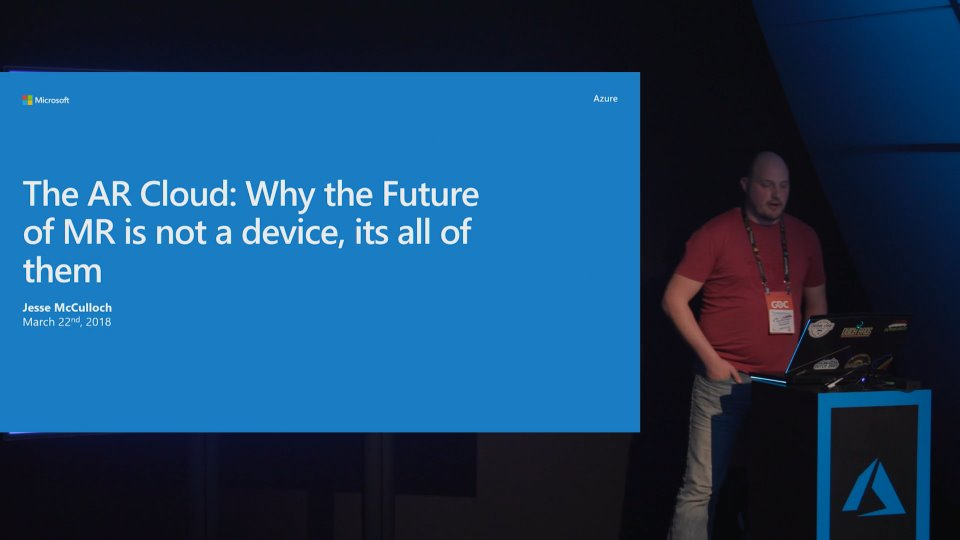 The AR Cloud: Why the future of MR is not a device, it'sall of them