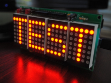 LED fun, four characters at a time, with Netduino and ShieldStudio