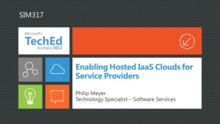 Enabling Hosted IaaS Clouds for Service Providers