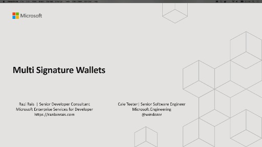 Introduction to Multi-Signature Wallets