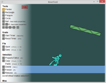 Kinect Ragdoll - Some 2D physics flying fun (with source)