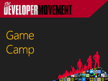 Developer Movement Game Camp