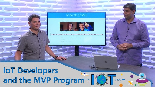 IoT Developers and the MVP Program