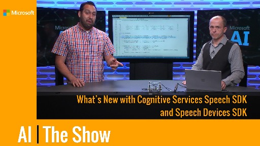 What's New with Cognitive Services Speech SDK and Speech Devices SDK