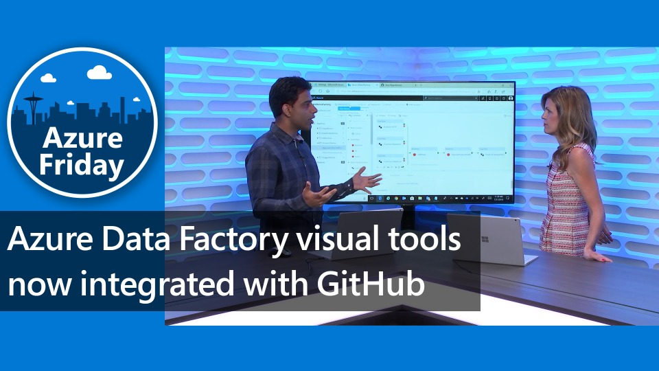 Azure Data Factory visual tools now integrated with GitHub