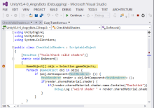 Unity, Unity and some Visual Studio too