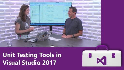 Unit Testing Tools in Visual Studio 2017