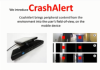 "CrashAlert - ""Enhancing Peripheral Alertness for Eyes-Busy Mobile Interaction while Walking"""