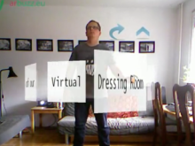 Kinect Virtual Dressing Room Tech Preview