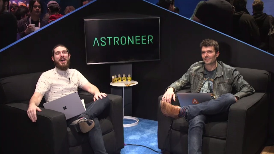 The making of Astroneer for Windows & Microsoft Store
