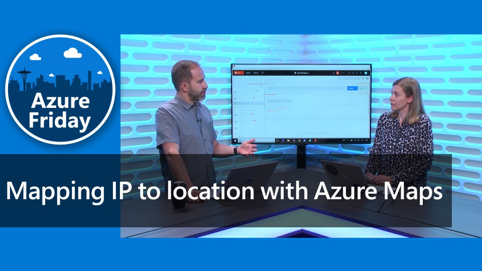Mapping IP to location with Azure Maps