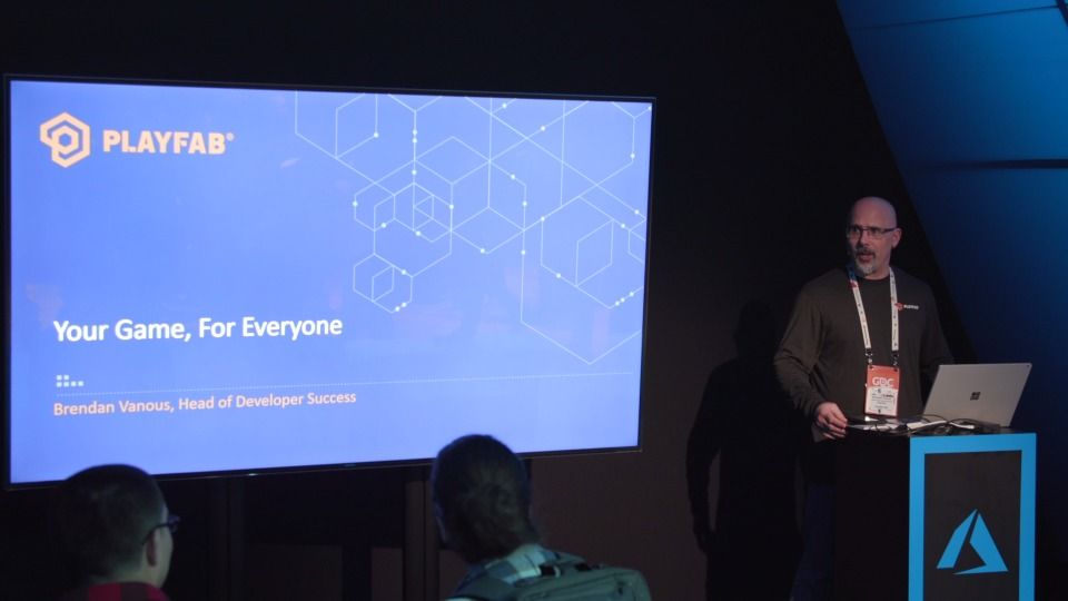Your Game For Everyone with PlayFab - Theater Presentation
