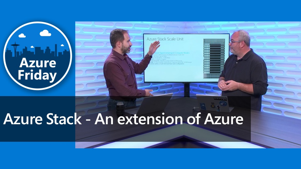 Azure Stack - An extension of Azure