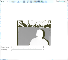 Mousing around with the Kinect with Kinect Mouse Controller code sample