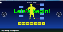 Learning English, the Kinect way