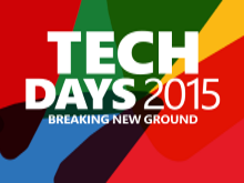 Techdays 2015 the Netherlands