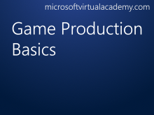 Game Production Basics