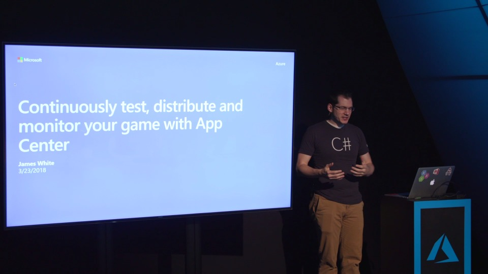 Continuously Test, distribute and monitor your game with App Center - Theater Presentation