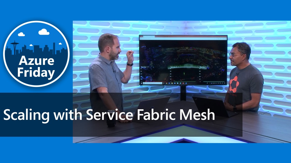 Scaling effortlessly with Service Fabric Mesh