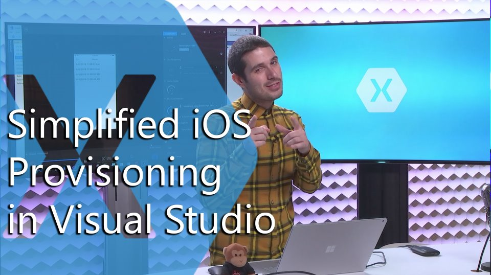 Snack Pack: Simplified iOS Provisioning in Visual Studio with fastlane