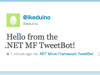 MicroTweet - Adding tweeting to your Netduino/.Net Micro Framework projects