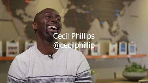 Meet Cecil Phillip, Cloud Developer Advocate at Microsoft