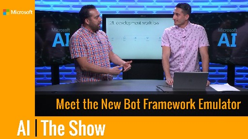 Meet the New Bot Framework Emulator